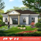 Casa modular luxuosa da casa de campo da construção de aço para viver/apartamento/Restore