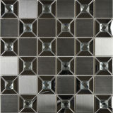 Teja acero inoxidable de materiales de construcción del mosaico por un revestimiento de la pared (FYMG069)