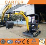 Máquina escavadora da esteira rolante hidráulica de CT18-9d (cubeta 1.8T&0.04M3) mini