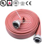 Manguito durable flexible orientado a la exportaci3on de la prueba de fuego del PVC de 7 pulgadas
