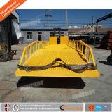 フォークリフトの傾斜路の移動式ドックシステム、販売のための船積みドックの傾斜路