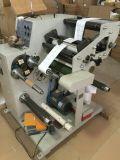 Máquina que raja con rebobinar intercambiado de dos ejes