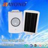 luz solar del jardín del sistema de energía solar integrado 6W