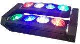 RGBW 4in1カラーのLED 8PCSのくものビームライト