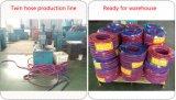 공장에서 유연한 PVC 쌍둥이 선 용접 호스