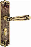 Bloqueos populares de cobre amarillo sólidos de la maneta del europeo del buen precio/del diseño de Medio Oriente