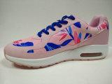 高品質のブランドの靴の女性の花プリント履物
