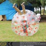 Fútbol humano inflable superventas de la burbuja del área de reconstrucción del descuento