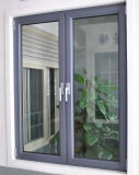 Ventana de aluminio, ventana del marco, ventana termal de aluminio de la rotura