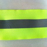 Faixa reflexiva elástica da etiqueta ANSI/107 quente colorida padrão