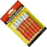 colore rosso impermeabile non tossico dell'indicatore della penna di marcatura del pastello della marcatura 6PCS