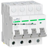 4p Circuit Breaker (TUV Certification), C.C. Circuit Breaker de Solar Photovoltaic com Competitive Price (JB-63)