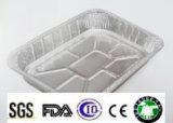Plaques de papier d'aluminium d'utilisation de poissons d'utilisation de poulet