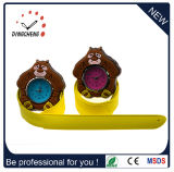 Slap quadrato Wristwatch Silicon LED Watch per Kids (DC-1063)