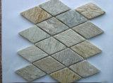 Ardósia do mosaico da ardósia, Flagstone da ardósia, painel de parede natural da ardósia/pedra cultivada/Ledgestone