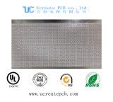 Pi 알루미늄을%s 가진 LED를 위한 백색 색깔 PCB