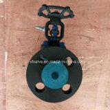 API602 1500lb 2500lb forjó la válvula de puerta de acero de extremo de la conexión del borde