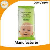 高品質の食品等級の赤ん坊口および手のワイプ