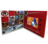 Disegno moderno video cartolina d'auguri di 4.3 pollici per il giorno di ringraziamento