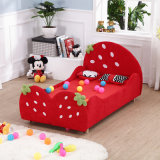 Meubles de la chambre à coucher de la fille, bâti modèle de gosses de fraise, bâti simple d'enfants