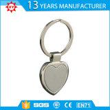 Catena chiave dei punti del cuore di figura del metallo promozionale della lega