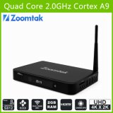 8GB Emmc Gigabit Ethernet Dual Band WiFi를 가진 Amlogic S812 텔레비젼 Box T8 Plus