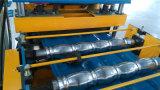 Macchina d'acciaio di profilo della costruzione delle mattonelle di punto ondulato
