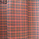 Пряжа поплина хлопка сплетенная покрасила ткань для рубашек одежд/платья Rls50-21po