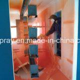Lignes d'enduit de poudre avec le système automatique de traitement préparatoire