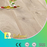 Plancher en bois en bois stratifié en stratifié V-Grooved de parquet de la planche E0 HDF de vinyle