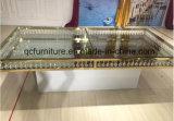 Redonda casamento com aço inoxidável dourado 894-1# do espelho