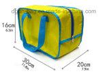 Sacchetto su ordinazione portatile stampato del pranzo del dispositivo di raffreddamento di forma fisica del poliestere