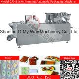 Máquina de embalagem da bolha do biscoito da medicina de Thermoforming da folha do PVC