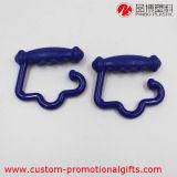 Mini supporto d'attaccatura di plastica portatile esterno utile del sacco dell'amo
