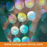 Het transparante Stempelen van de Folie van het Hologram van de Veiligheid