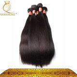 柔らかいペルーの毛のWeft自然で膚触りがよい直毛(FDX-PST-1B)