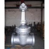 valvola a saracinesca di funzionamento degli ingranaggi conici dell'acciaio di getto di 150lb 300lb 600lb