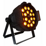 14PCS 15W RGBWA+UV 6in1 LED NENNWERT Summen-Licht (3in1/4in1/5in1 optisch)