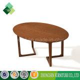 2017販売のための現代様式の純木の楕円形のコーヒーテーブル