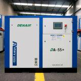 компрессор воздуха винта 55kw 75HP неподвижный сразу (охлаженный воздух)