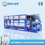 Máquina automática do bloco de gelo da grande produção para o gelo comestível