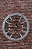 ホームおよび庭のための装飾的なハングの金属の柱時計