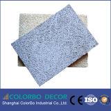 El panel acústico impermeable de las lanas de madera de Shangai