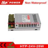 bloc d'alimentation antipluie de l'interpréteur de commandes interactif en aluminium continuel DEL de la tension 24V-25W