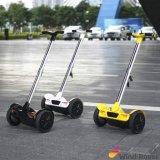 """Auto do """"trotinette"""" do retrocesso de duas rodas que balança o mini """"trotinette"""" elétrico da mobilidade"""