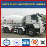9m3 de Vrachtwagen van de concrete Mixer, de Vrachtwagen van de Mixer van China HOWO 6*4