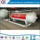 Clw Factory Direct Sales 10, planta de enchimento de cilindros de LPL 000L, 10cbm LPG Skid Station para a Nigéria