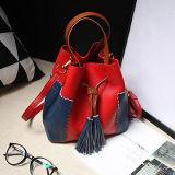 les plus défunts sacs de Shoudler de femmes de Couleur-Collsion de sacs à main de cuir véritable de type de position pour la promotion Emg5148