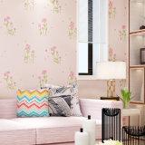 PVC Wallcovering, papier de mur de PVC, tissu de mur de PVC, papier peint de Moderne-Type de PVC