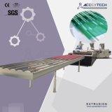 Strato/mattonelle compositi del tetto del PVC che fanno riga